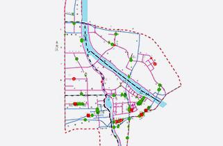 西安浐灞生态区排水等地下管线普查探测工程