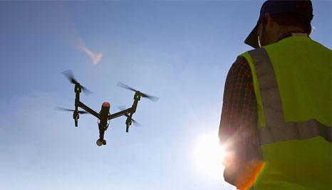 无人机组再次进驻山阳灾区开展航拍