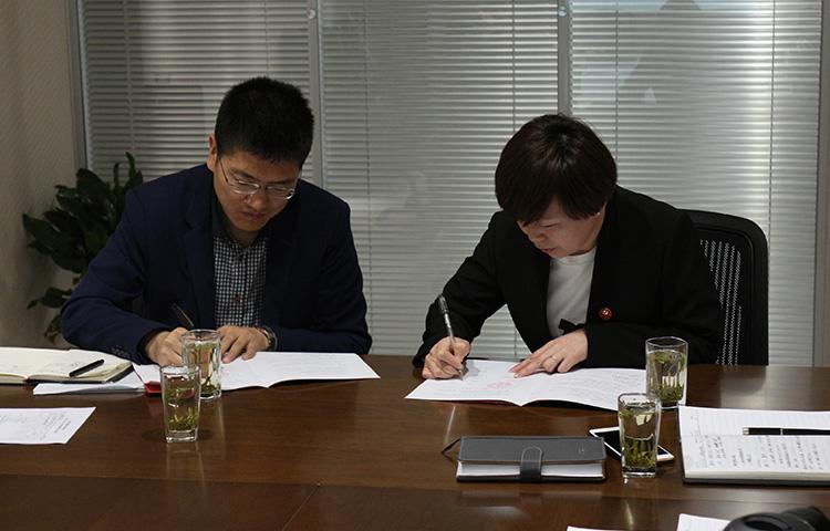 同陕西交通职业技术学院签订校企合作协议